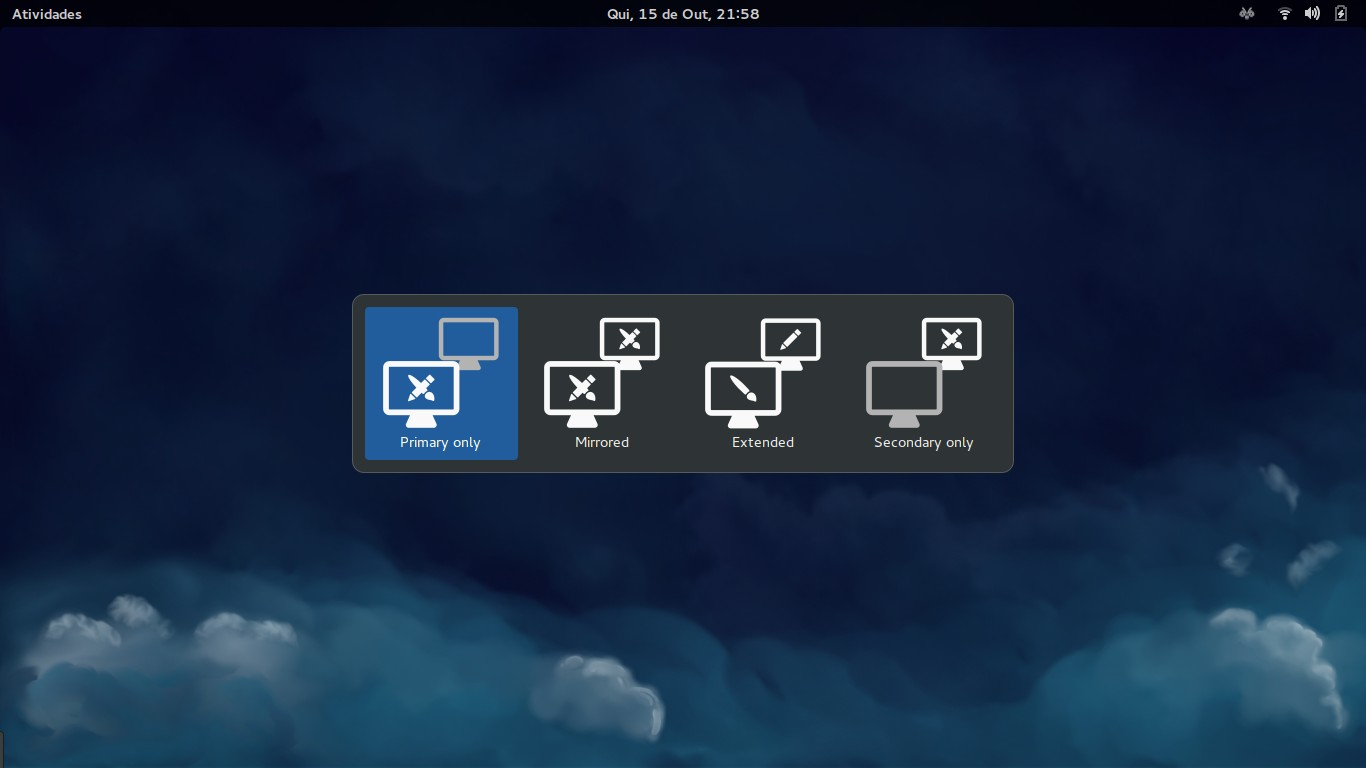 Display Switcher - GNOME Shell Extensions