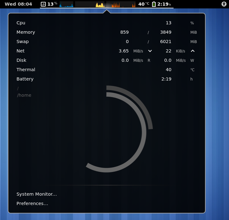 system-monitor - GNOME Shell Extensions
