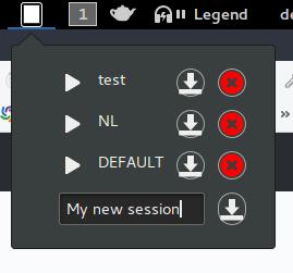 Logo lswm Linux Session Windows Manager
