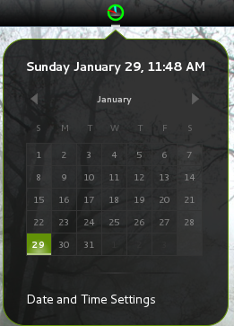 Analog Neon Clock - GNOME Shell Extensions
