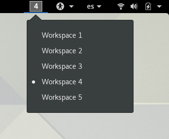 Gnome 3 workspace indicator forex investment management agreement issues of today