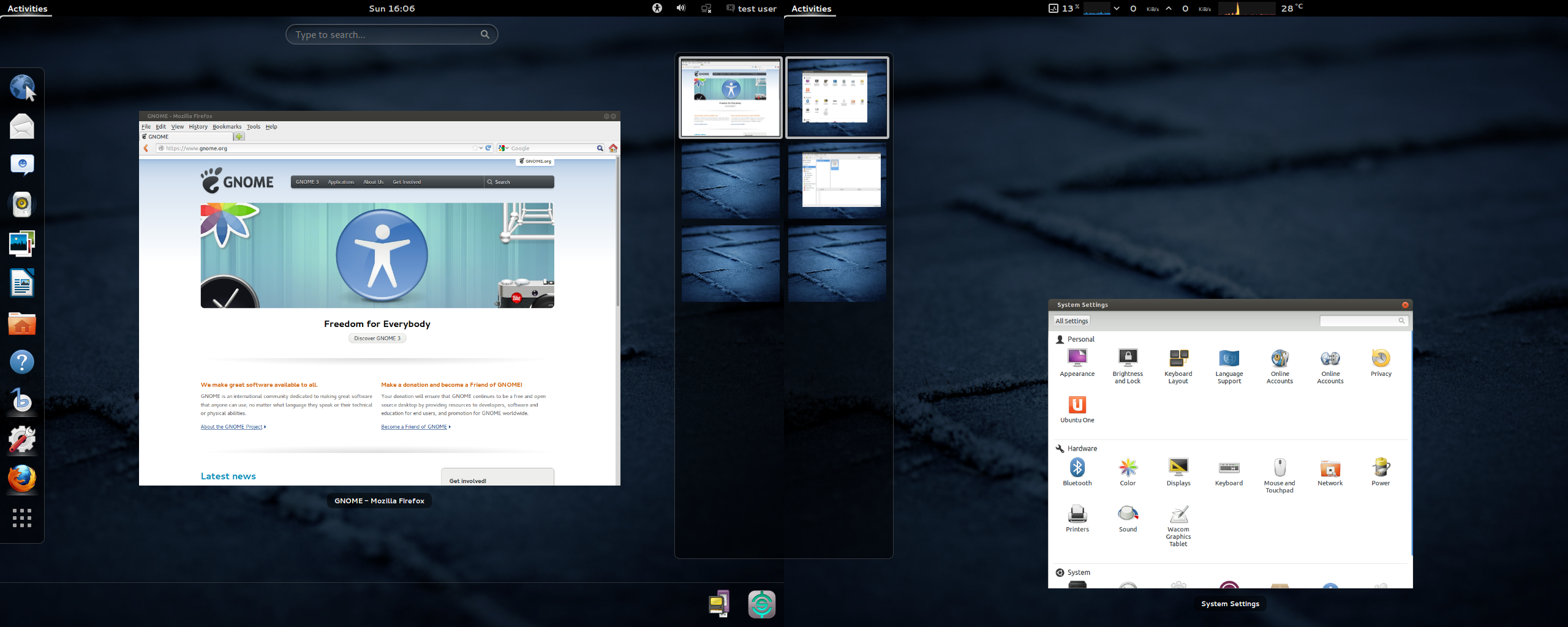 Multiple Monitor Panels - GNOME Shell Extensions