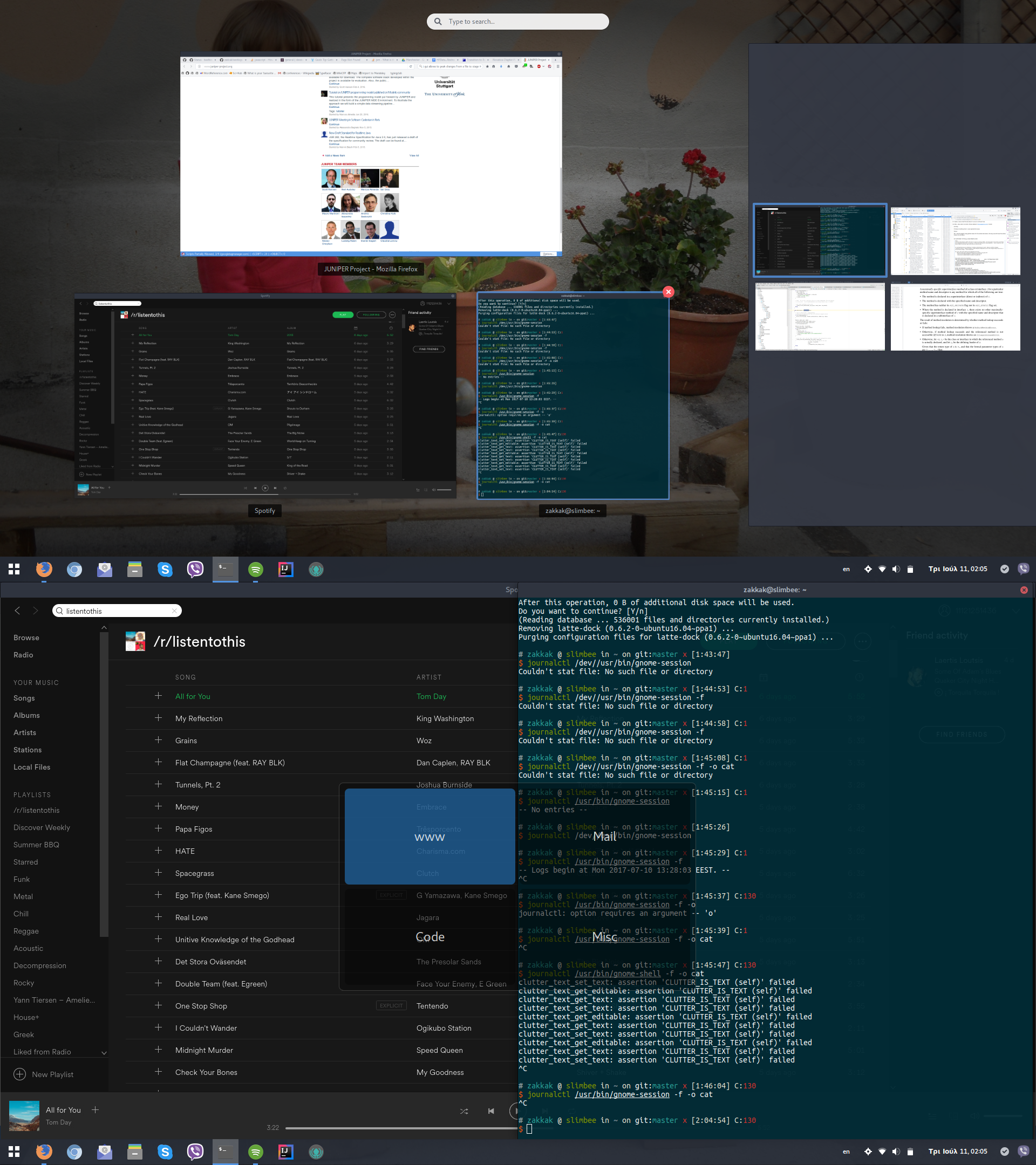 Workspace Grid - GNOME Shell Extensions