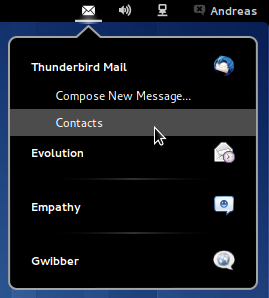 Messaging Menu - GNOME Shell Extensions